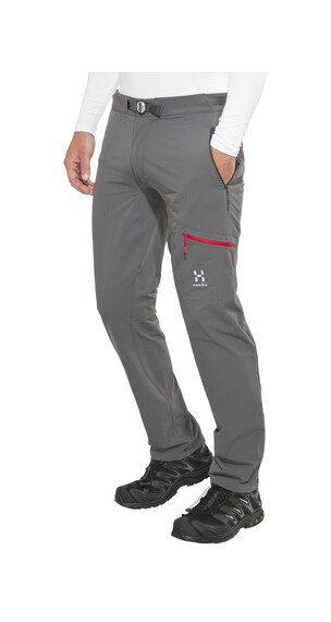 Haglöfs Lizard II Pantaloni lunghi grigio